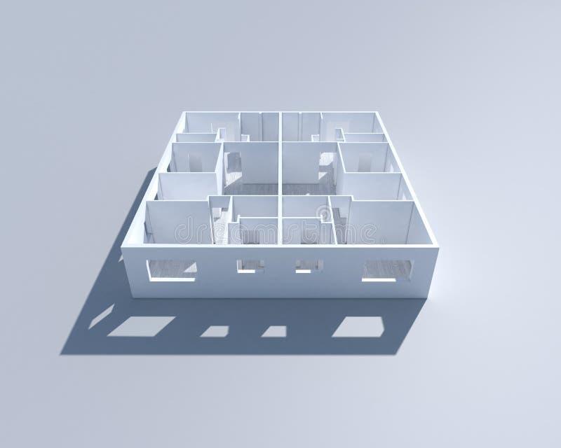construction 3d image stock