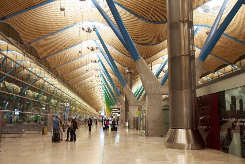 Construction d'aéroport Hall de attente photo stock