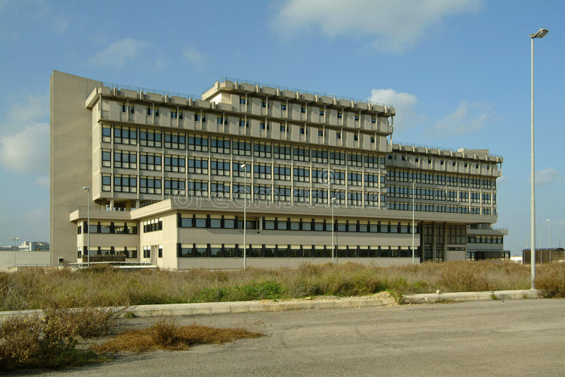 Construction d'hôpital photo libre de droits