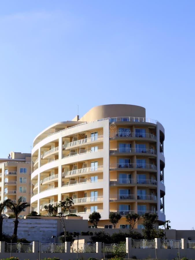 Construction d'hôtel photographie stock libre de droits