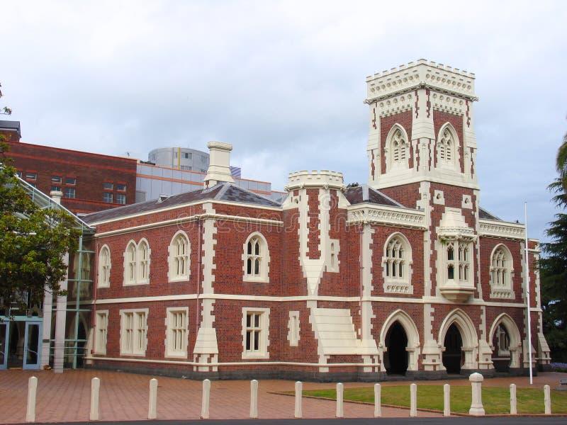 Construction d'histoire d'Auckland image stock