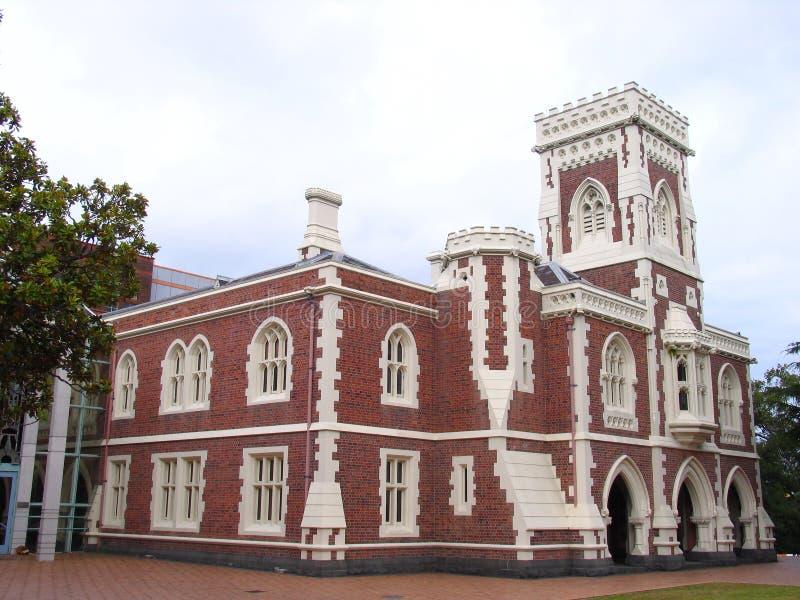 Construction d'histoire d'Auckland photo libre de droits