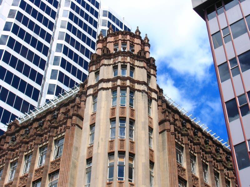 Construction d'histoire d'Auckland images stock
