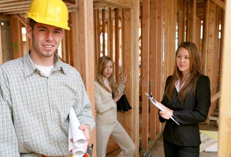 Construction d'immeubles images stock
