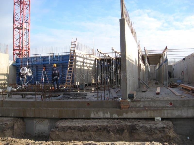 Construction d'un appartement photo libre de droits