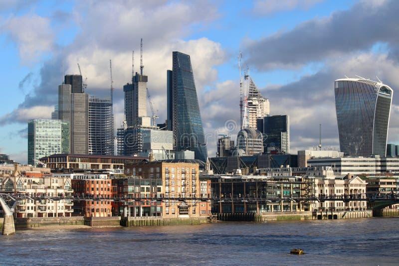 Construction dans la ville de Londres photo stock