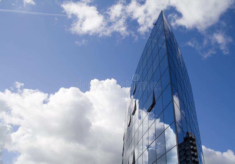 Construction dans le ciel photographie stock