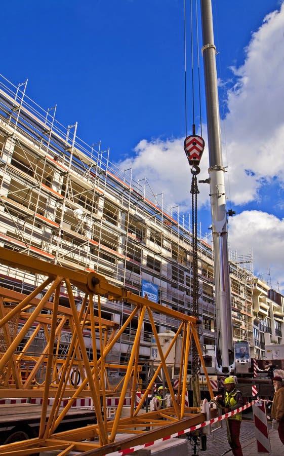 Construction de bâtiments à Munich photo libre de droits