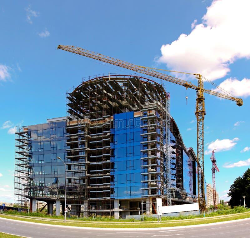 Construction de bâtiments photo stock