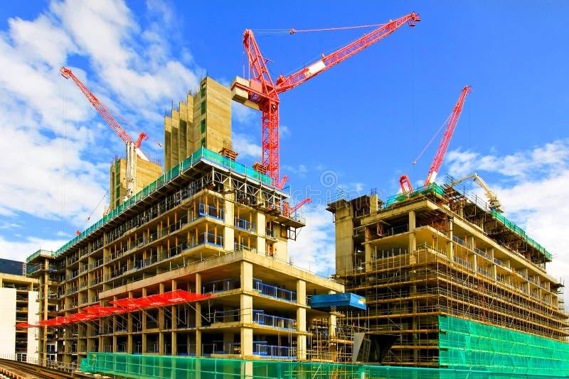 Construction de bâtiments 2 image libre de droits