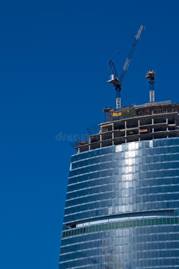 Construction de bâtiments photographie stock libre de droits