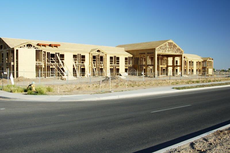 Download Construction de bâtiments image stock. Image du bureau - 744891