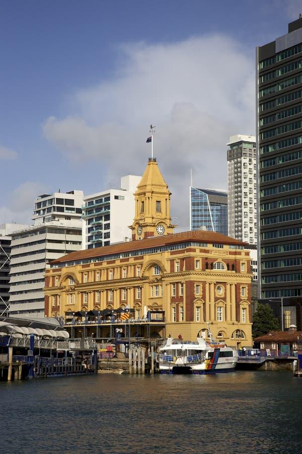 Construction de bac d'Auckland photos stock