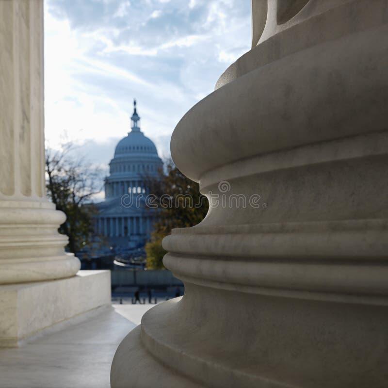 Construction de capitol image libre de droits