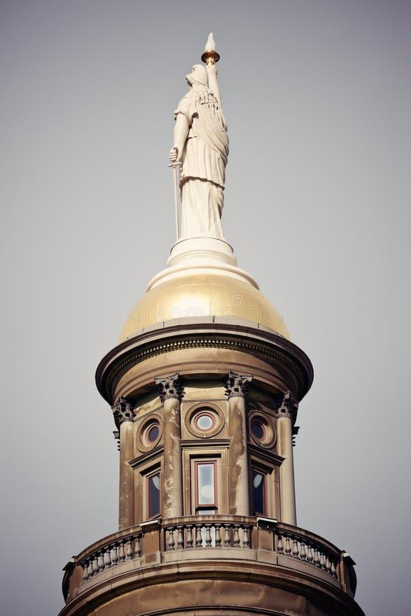 Construction de capitol d'état à Atlanta photo libre de droits