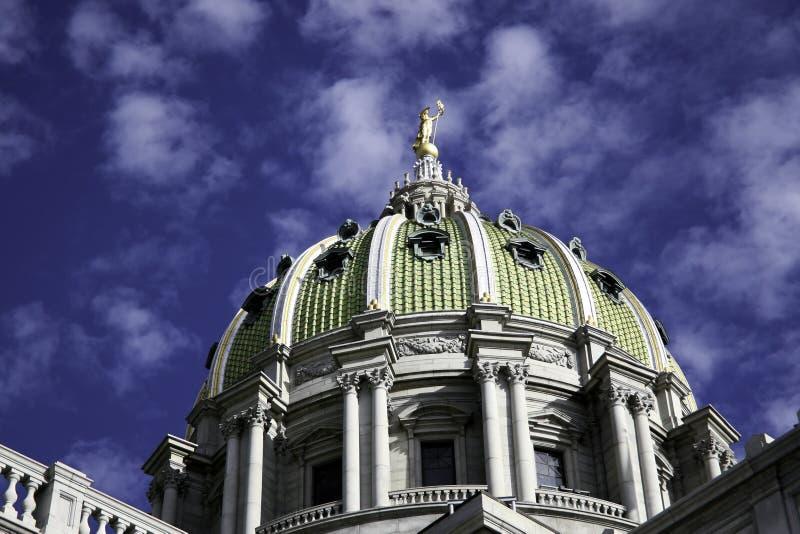 Construction de capitol d'état photos libres de droits