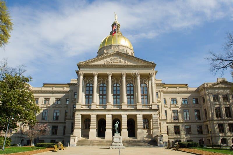 Construction de capitol d'état de la Géorgie photo stock