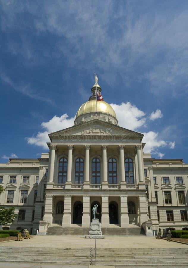 Construction de capitol d'état de la Géorgie photos libres de droits