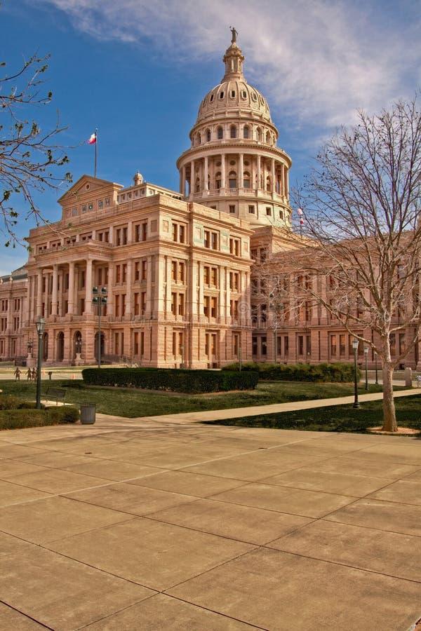 Construction de capitol d'état du Texas images stock