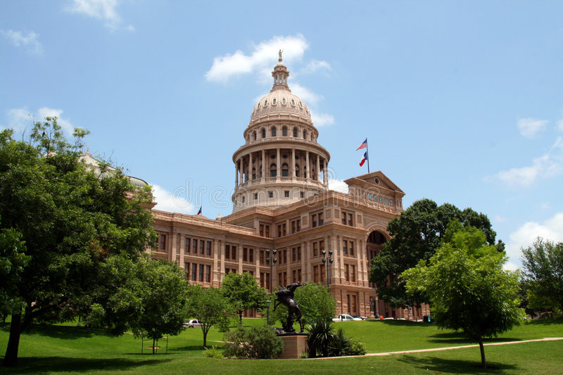 Construction de capitol d'état du Texas photo stock