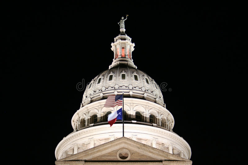 Construction de capitol d'état du Texas images libres de droits
