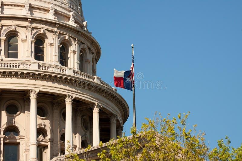 Construction de capitol d'état du Texas photographie stock
