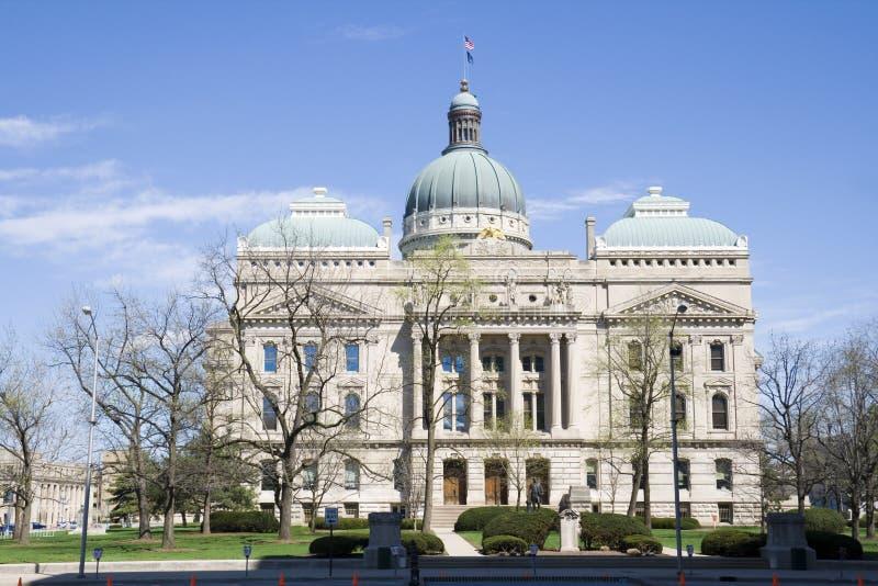 Construction de capitol de l'Indiana photos libres de droits