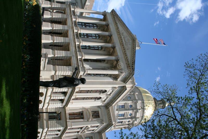 Construction de capitol de la Géorgie photo libre de droits