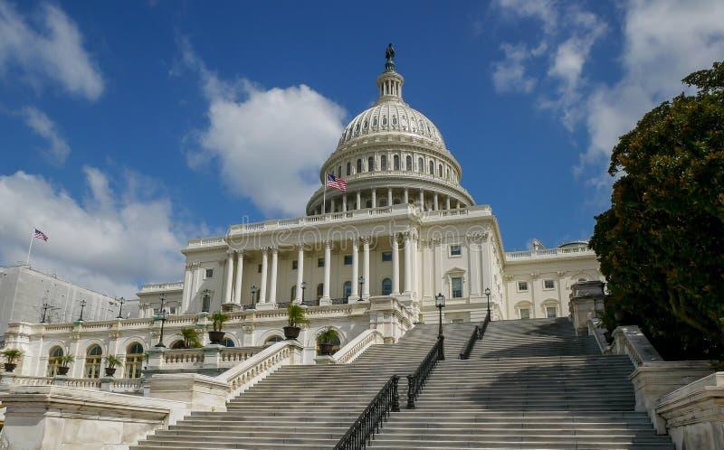 Construction de capitol des Etats-Unis dans le Washington DC photos stock
