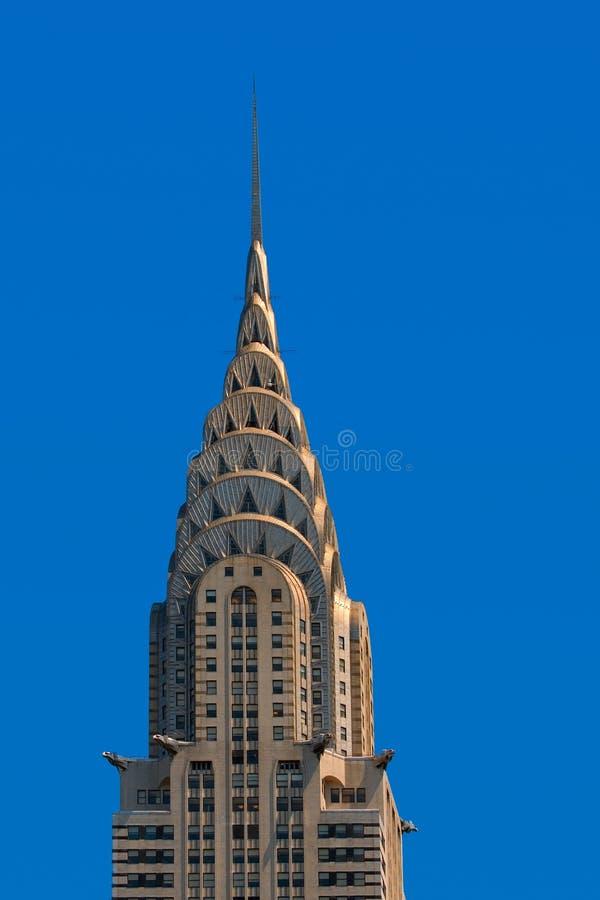 Construction de Chrysler, Manhattan photographie stock libre de droits