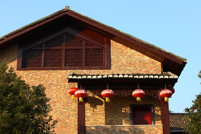 Construction de classique chinois photos libres de droits