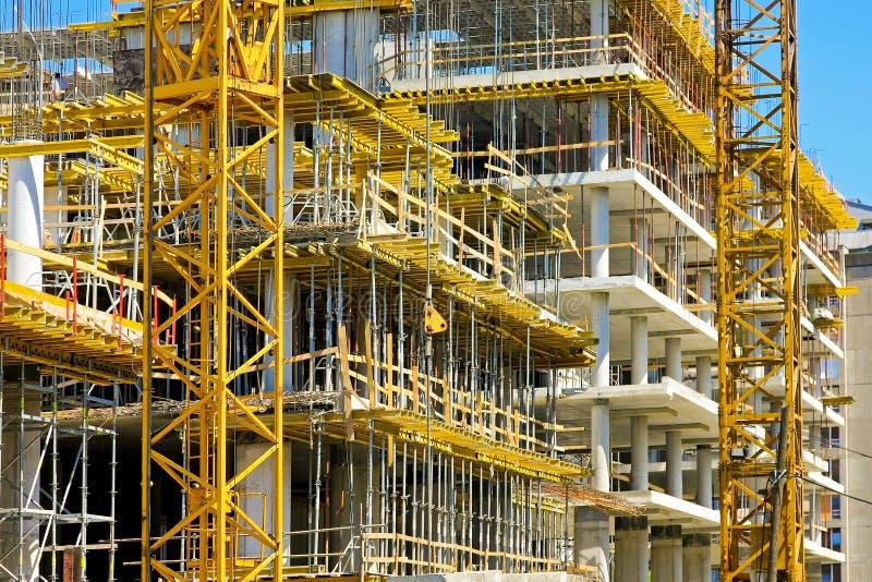 Construction de construction photographie stock libre de droits