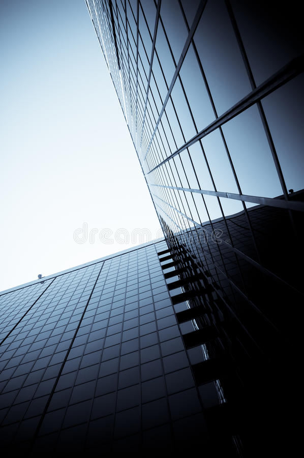 Construction de corporation moderne images stock