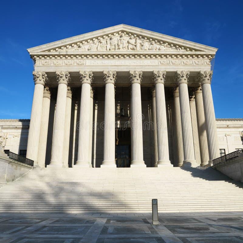 Construction de court suprême image stock