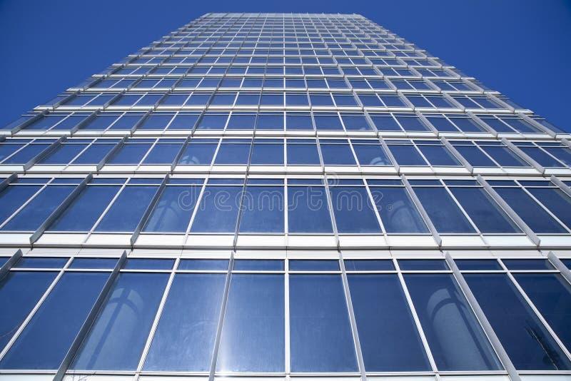 Construction de district financier photo libre de droits