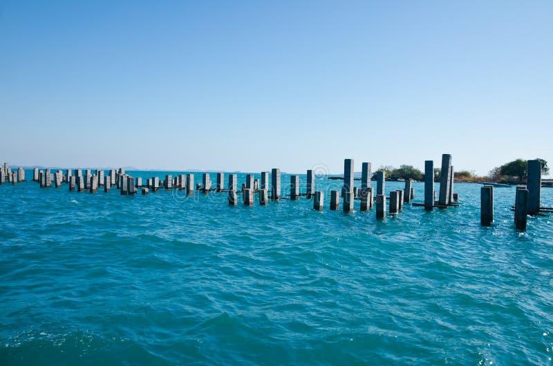 Construction de dock photos libres de droits