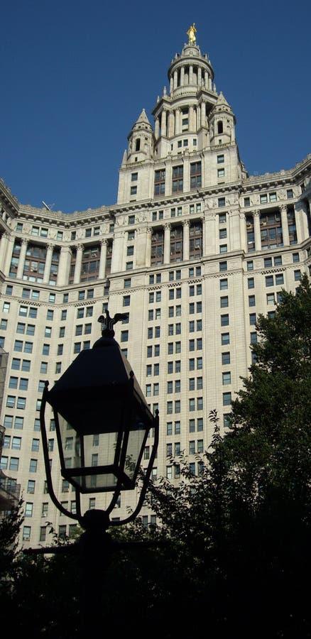 Construction de gestion, NYC. image libre de droits