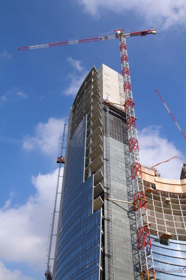Construction de gratte-ciel photos stock
