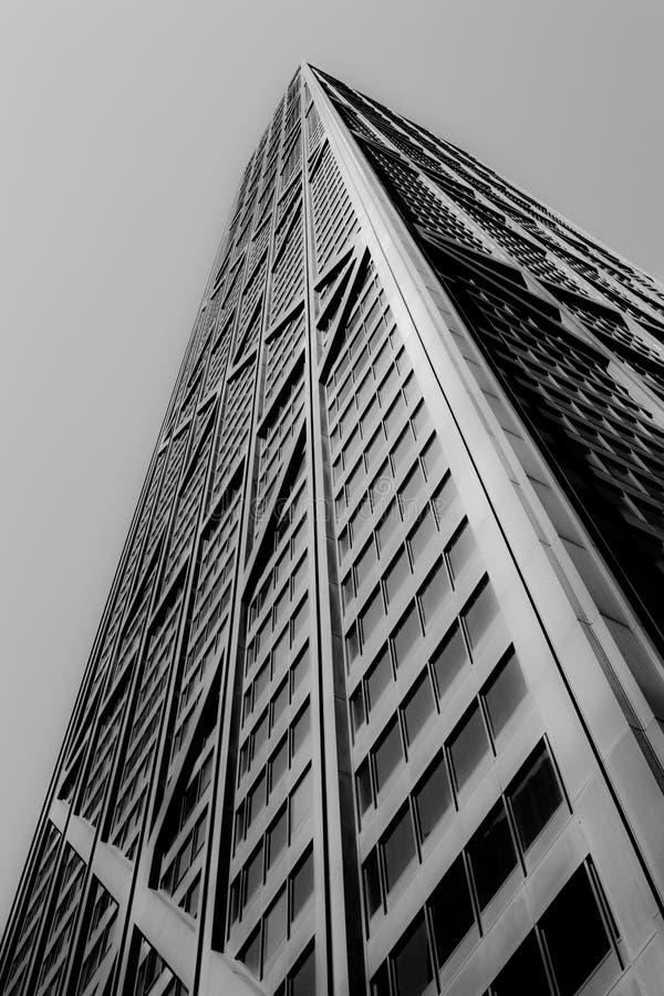 Construction de John Hancock images libres de droits