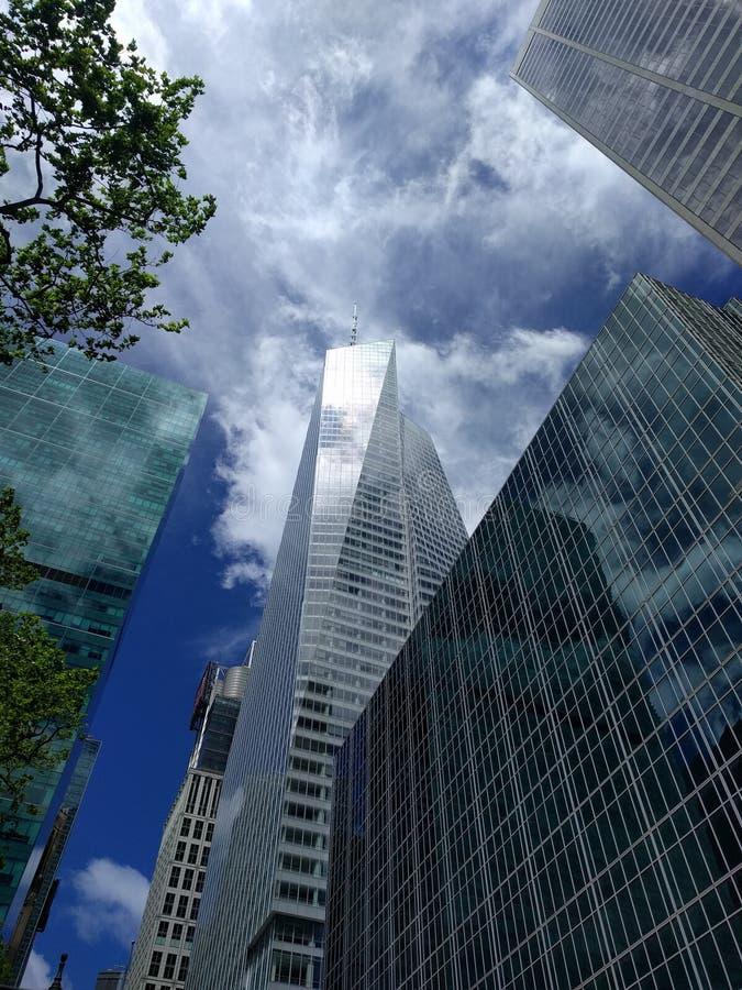 Construction de la Banque d'Amérique photos stock