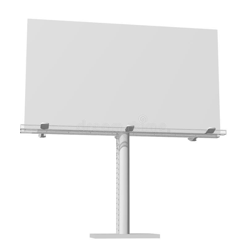 Construction de la publicité pour le grand panneau d'affichage de publicité extérieure Panneau d'affichage pour votre conception  photos stock
