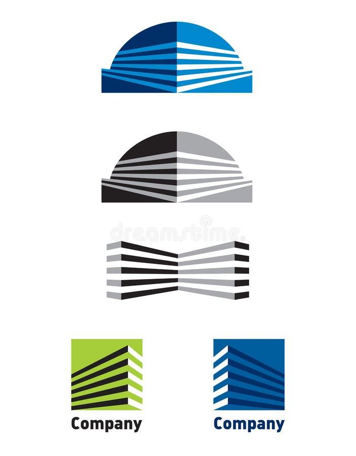 Construction de logo illustration libre de droits
