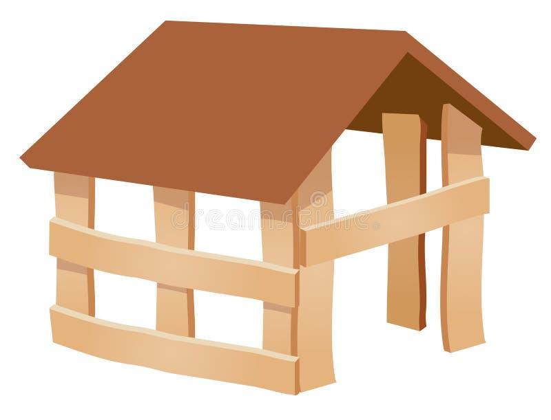 Construction de maison neuve illustration de vecteur