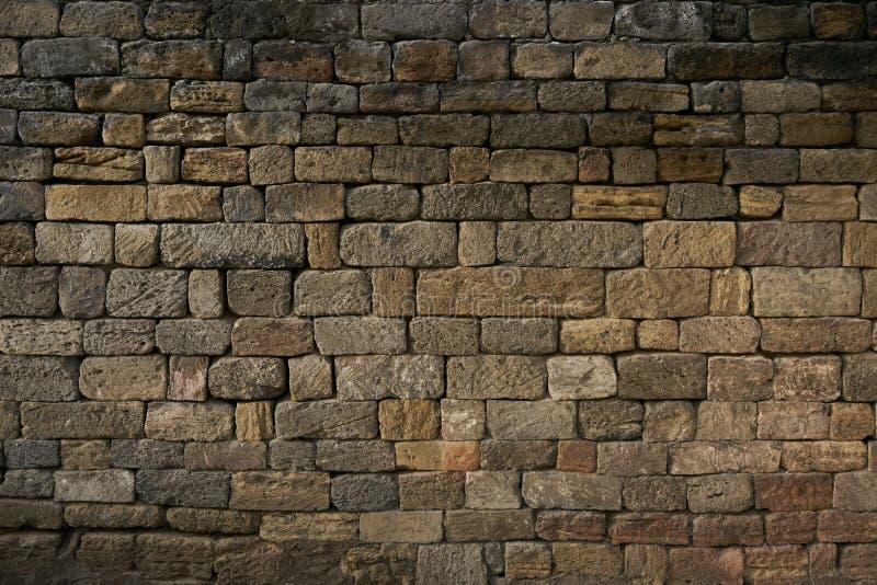 Construction de modèle de texture rouge de fond de couleur de mur de briques vieille photo libre de droits