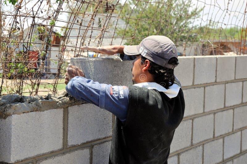 Construction de mur photos stock