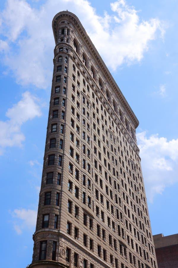 Construction de New York Flatiron images libres de droits