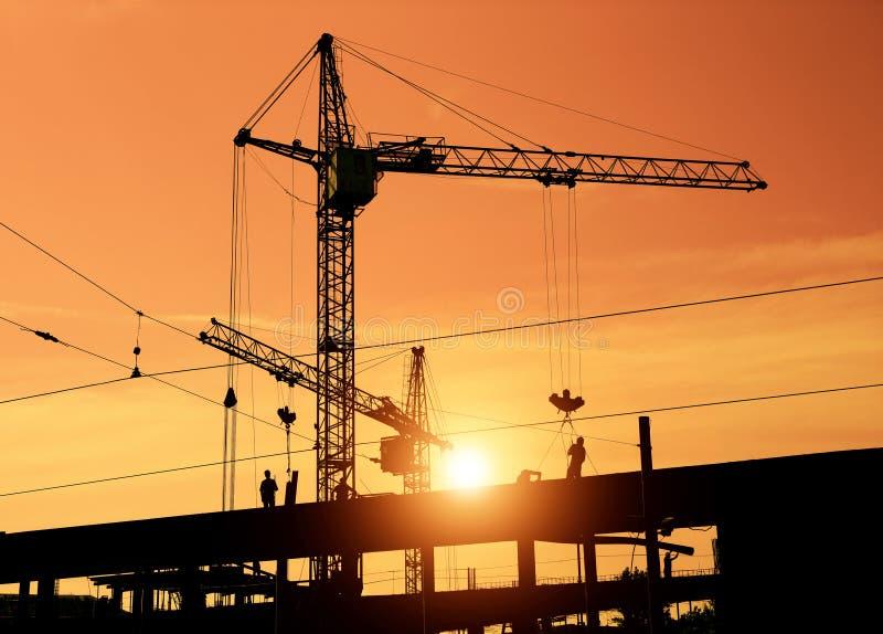 Construction de nouvelle maison photo libre de droits