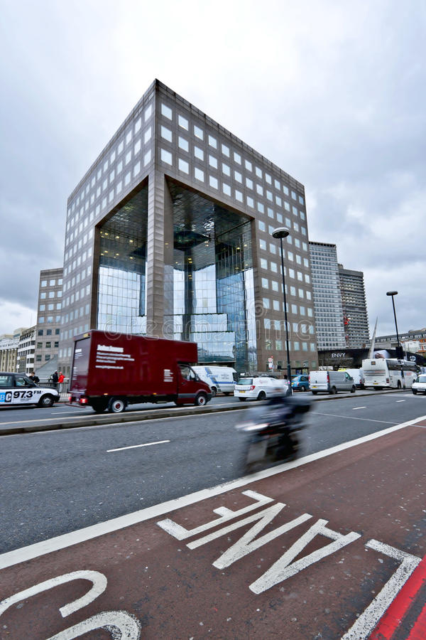 Construction de passerelle de No.1 Londres photos libres de droits