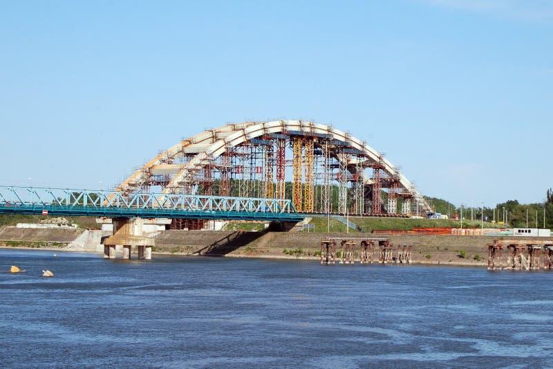 Construction de pont image libre de droits