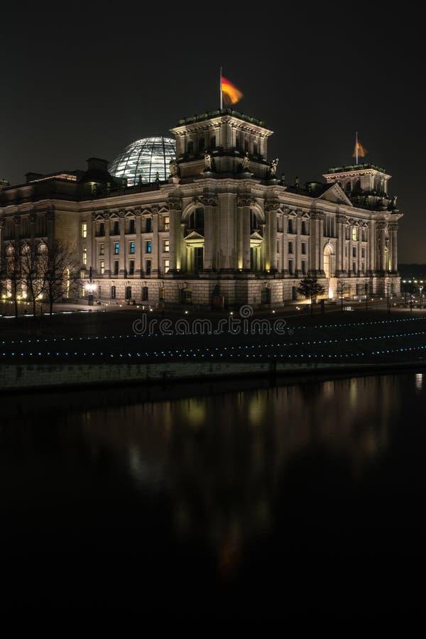Construction de Reichstag photo stock